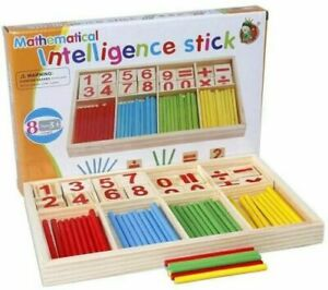 MATHEMATICAL-INTELLIGENCE-STICKS-EDUCATIONAL-MONTESSORI-LEARNING-KIDS-TOY-GIFT