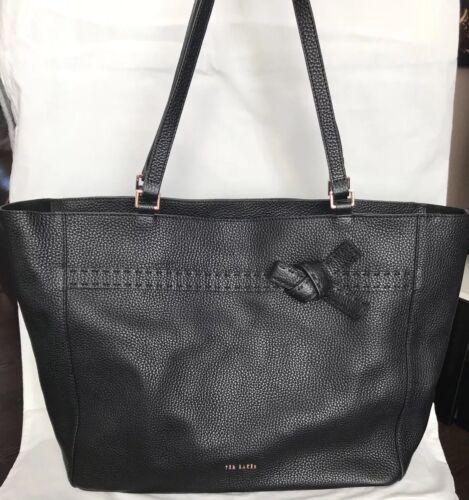 Grand nœud Soft 219 Shopper pour € sport Ted Baker sac de avec Noir femmes pFaW8w4qA5