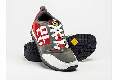 Ollo Sapien Red White Grey Parkour Freerunning Shoe Trainer
