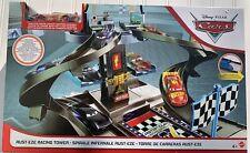 Disney Pixar Cars Rust-Eze Racing Tower Race Car Track Set w// lightning Mcqueen