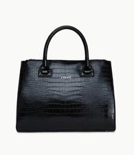 Borsa Liu Jo Anna Shopping M quadrata N67085 E0087 Nero