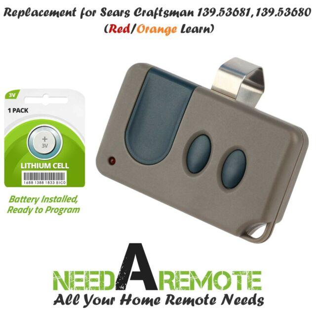 Craftsman 139 53680 Mini Garage Door Opener Remote 53680 53681 956cb 139 53681b For Sale Online Ebay