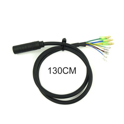 9Pin Motor Cable EBike Electric Bicycle Female To Male Connector Extension