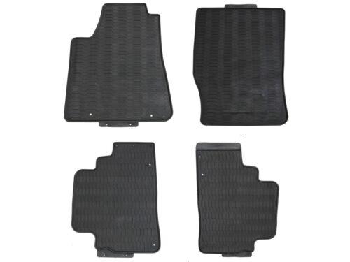 Floor Mats for 2010-2015 Lexus RX350 450H Shape Black Rubber All Weather Custom