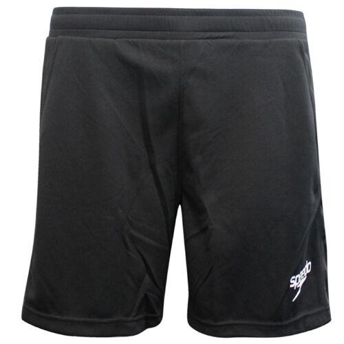 SPEEDO DA UOMO COOL MAX ACTIVE Fitness Training Running Pantaloncini Nero 80950701 EE67