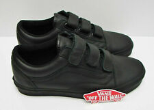 VANS SNEAKERS Old Skool V Black Leather