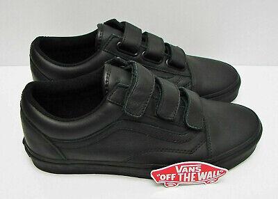Vans Old Skool V Mono Leather Black