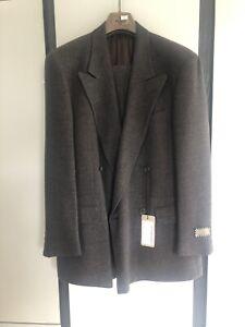With Misura doppio Suit Uk Never petto Brown Tags Brand Fendi 40 Worth New TqXZZH