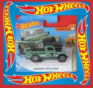 Hot-Wheels-2020-Land-Rover-Series-III-pickup-3-250-neu-amp-ovp
