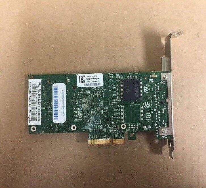 49Y4232 I340-T2 Intel Ethernet PCI Express X4 Dual Port Server Adapter Card