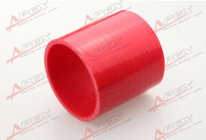 3-Ply-3-75-Zoll-Standard-Schlauch-70mm-Turbo-Silikon-Koppler-Rohr-Red