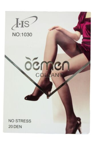 Ladies 20 Denier Tights With Smooth Hip Line Fashion NEW One Size
