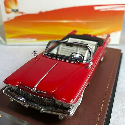 1960 Chrysler Imperial Crown Convertible Open Top in 1:43 Scale by GLM