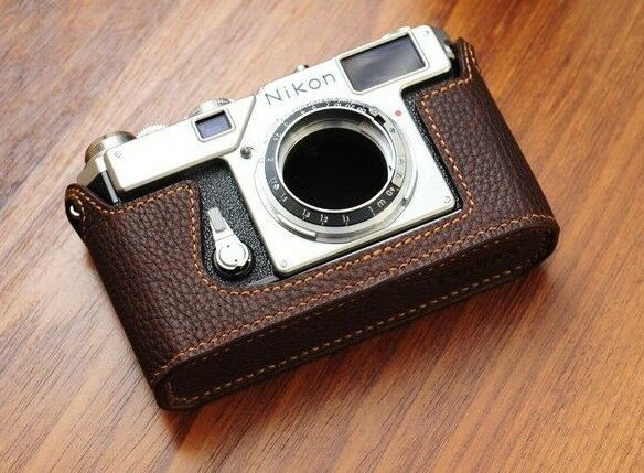 Leather Half Case for Nikon S3 - BRAND NEW