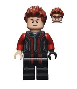 Lego Hawkeye 76030 76042 Black and Dark Red Suit Super Heroes Minifigure