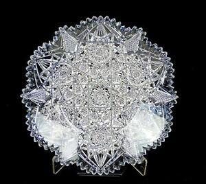 ABP-BRILLIANT-PERIOD-CUT-CRYSTAL-HOBSTAR-CROSSHATCH-SAWTOOTH-RIM-7-034-DISH-1890