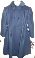 Rothschild Girls Wool B;lend Winter Dressy Coat Midnight Five (5)