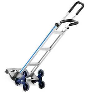 2-In-1-Hand-Truck-Stair-Climber-Hand-Truck-Aluminum-Cart-Dolly-550LBS