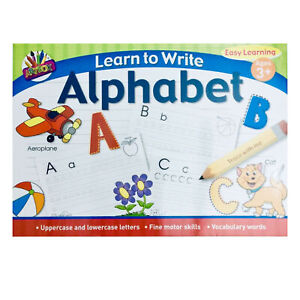 Learn-To-Write-Kids-Alphabet-Handwriting-Letters-Practice-A4-Pad-Age-3