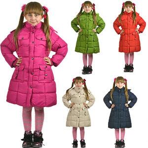 ninas-chaqueta-de-invierno-parka-abrigo-Nieve-Calido-2-12-ANOS