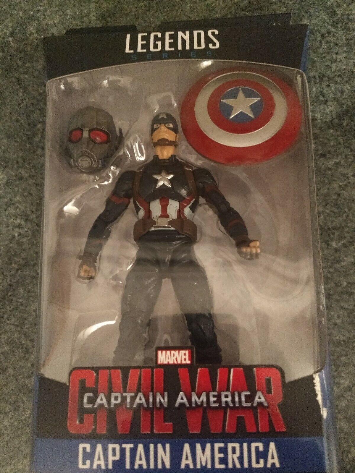 Captain America MCU marvel marvel marvel legends Action figure giant man baf wave civil war d6e