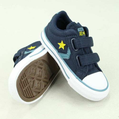 Converse Infant 9 Blue 6 Star 7 ossidiana Beef 2 Infant 4 8 Ev Trainers Player 6 10 rBqrTA