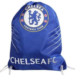 532fab5c34 Image is loading Chelsea-Football-Club-Official-Spike-Drawstring-Gym-Bag-