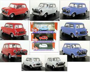 Greenlight-1-43-Scale-Italian-Job-1967-Austin-Mini-Cooper-S-1275-Mk1-3-Car-Set