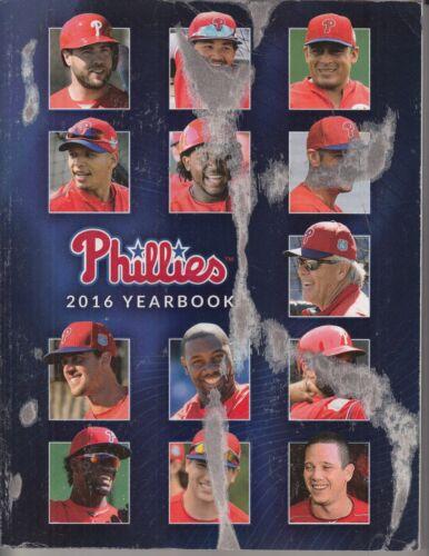 Sku E1-57 2016 Philadelphia Phillies Yearbook SEE DESCRIPTION /& PICTURES