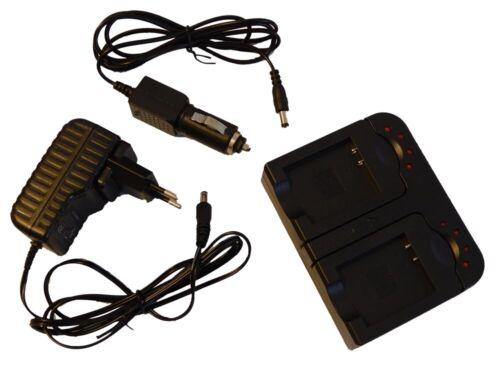 2in1 Kit de Cargador para CANON XF300 XF305