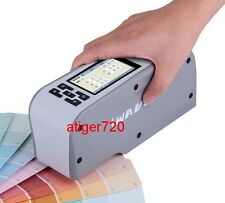 New WF28 8mm Colorimeter Color Meter CIELAB Display Mode DEL*a*b Formula