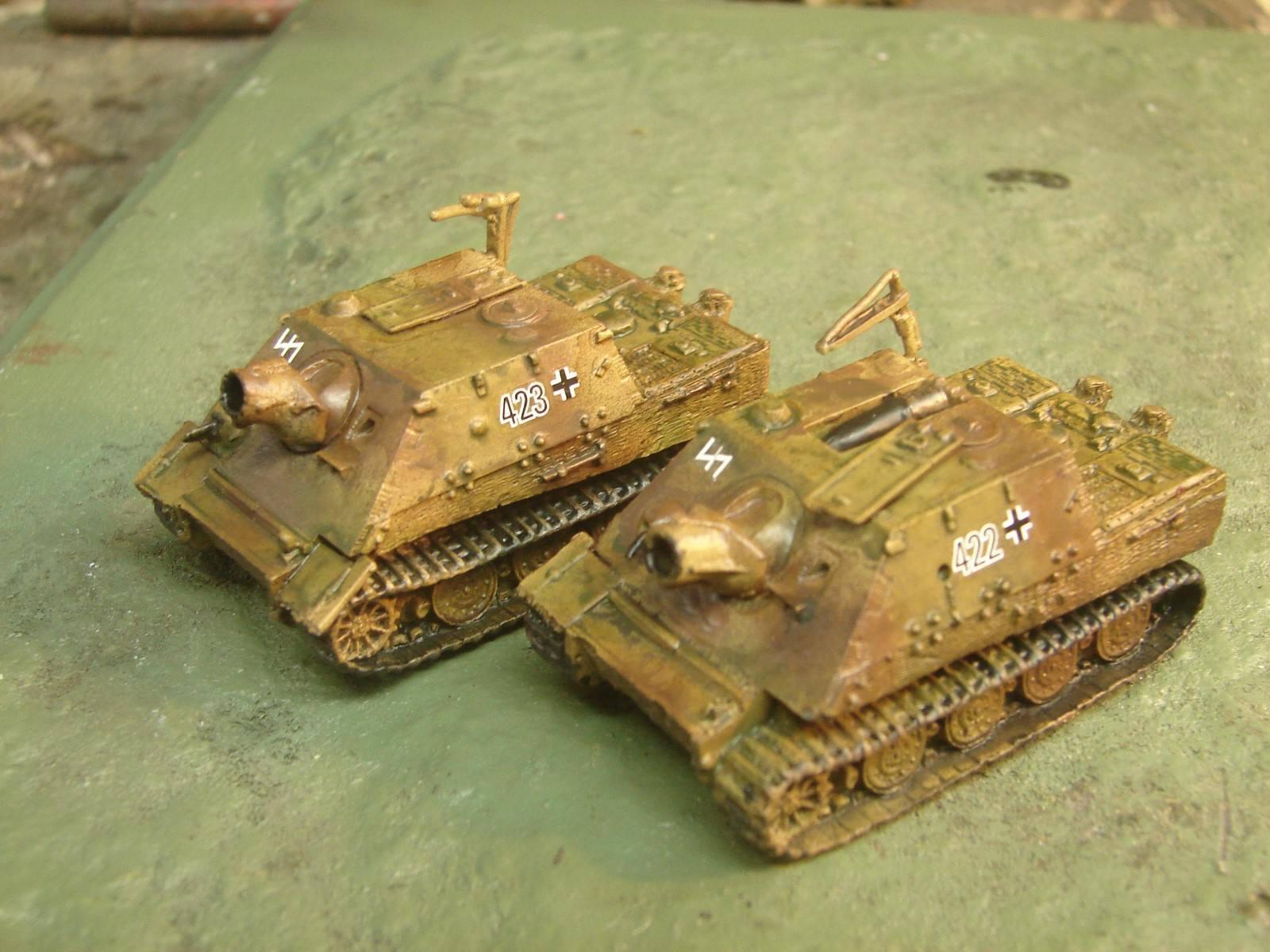 Flames of War Painted SturmTiger Platoon  2 Sturmtigers