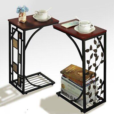homcom Tavolino da Salotto Moderno Tavolino da Caffe in Acrilico Trasparente Rotondo /Φ30 /× 53cm