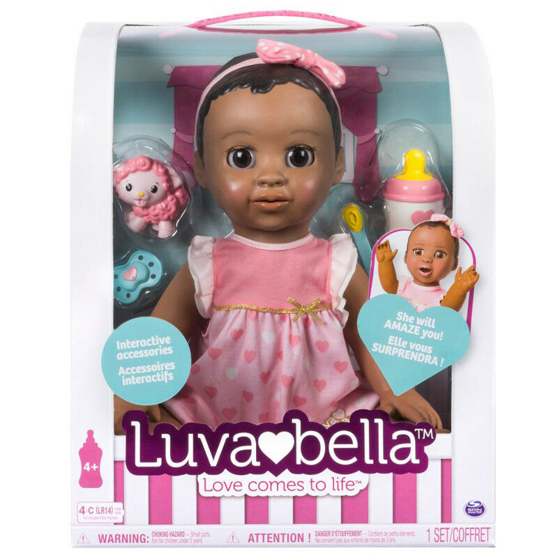 Luvabella Electronic Talking Doll with Dark Braun Hair NEW