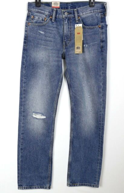 a49f84a6ea9 NWT Men's Levi's 514 Denim Blue Jeans Daisy Chain Distressed Destroyed Holes