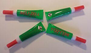 1 - 4x Universal Beli-cellules Tropfzeit 10 M 14,5 G Blanc Aushärtend (belizell)-afficher Le Titre D'origine