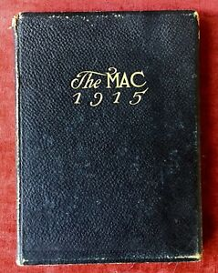 THE-MAC-1915-YEARBOOK-Macalester-College-St-Paul-MN