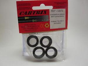 Neumaticos-x-4-Cartrix-Blandos-Rayados-20-x-11-mm-Tires-Slot-Car-1-32