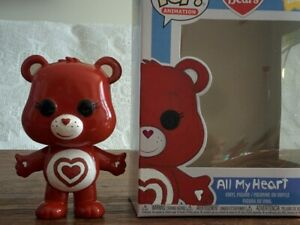 ALL-MY-HEART-Custom-Painted-FUNKO-POP-Care-Bears-Figure-Toy-Target-Exclusive