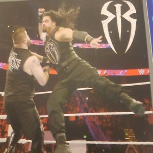 Image is loading 2-X-WWE-Roman-Reigns-RAW-Royal-Rumble-