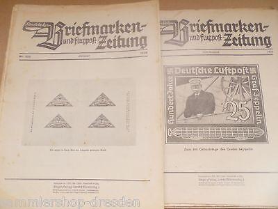 13045 35 Hefte Sieger Post- Deutsche Briefmarken Und Flugpost Zeitung 1935-1939 Zo Effectief Als Een Fee Doet