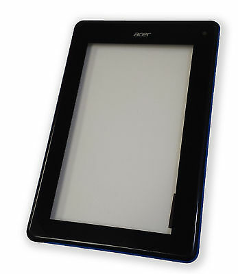 """Acer Iconia Tab B1-A71 Tablet 7/"""" Digitizer Glass with Frame Bezel BLUE"""