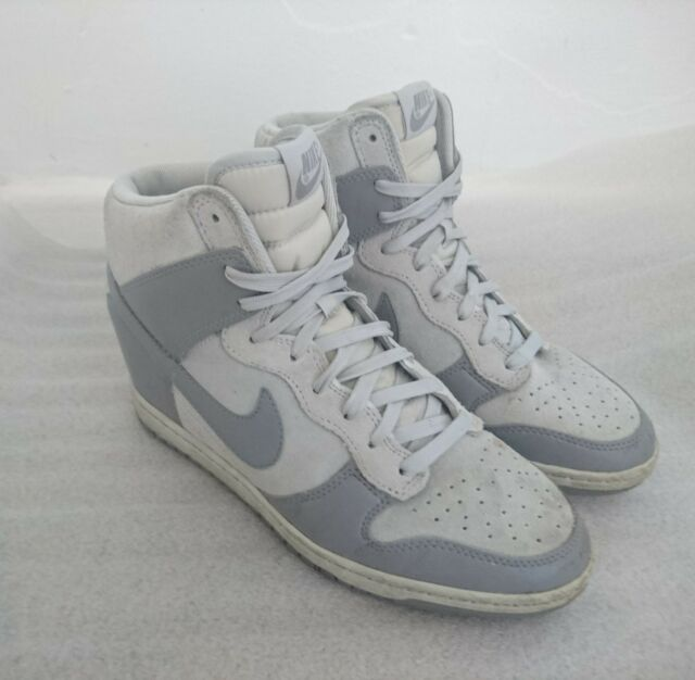 c56fa5a886fb Nike Dunk Sky Hi Wedge Heel Trainers Size UK 6   EU 40 Canyon Grey for sale  online