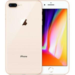 Apple iPhone 8 Plus 256GB Factory Unlocked AT&T T-Mobile Gold Smartphone