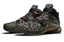 857d56e3ac1d8  140 Nike Lebron Soldier IX PRM Men s Sz 11.5 Green Camo Sequoia 749490-303  NEW