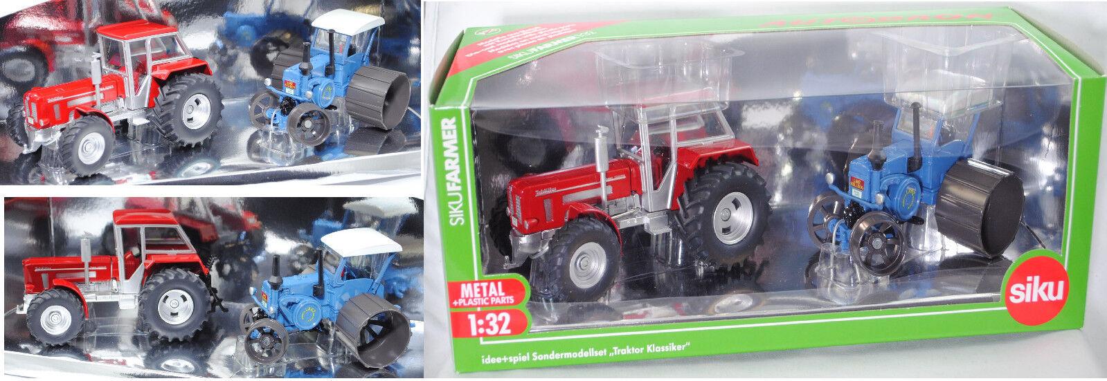 SIKU FARMER 8516 Set  Schlüter & LANZ 1 32 Spécial Modèle idée & jeu AUTODROM ®