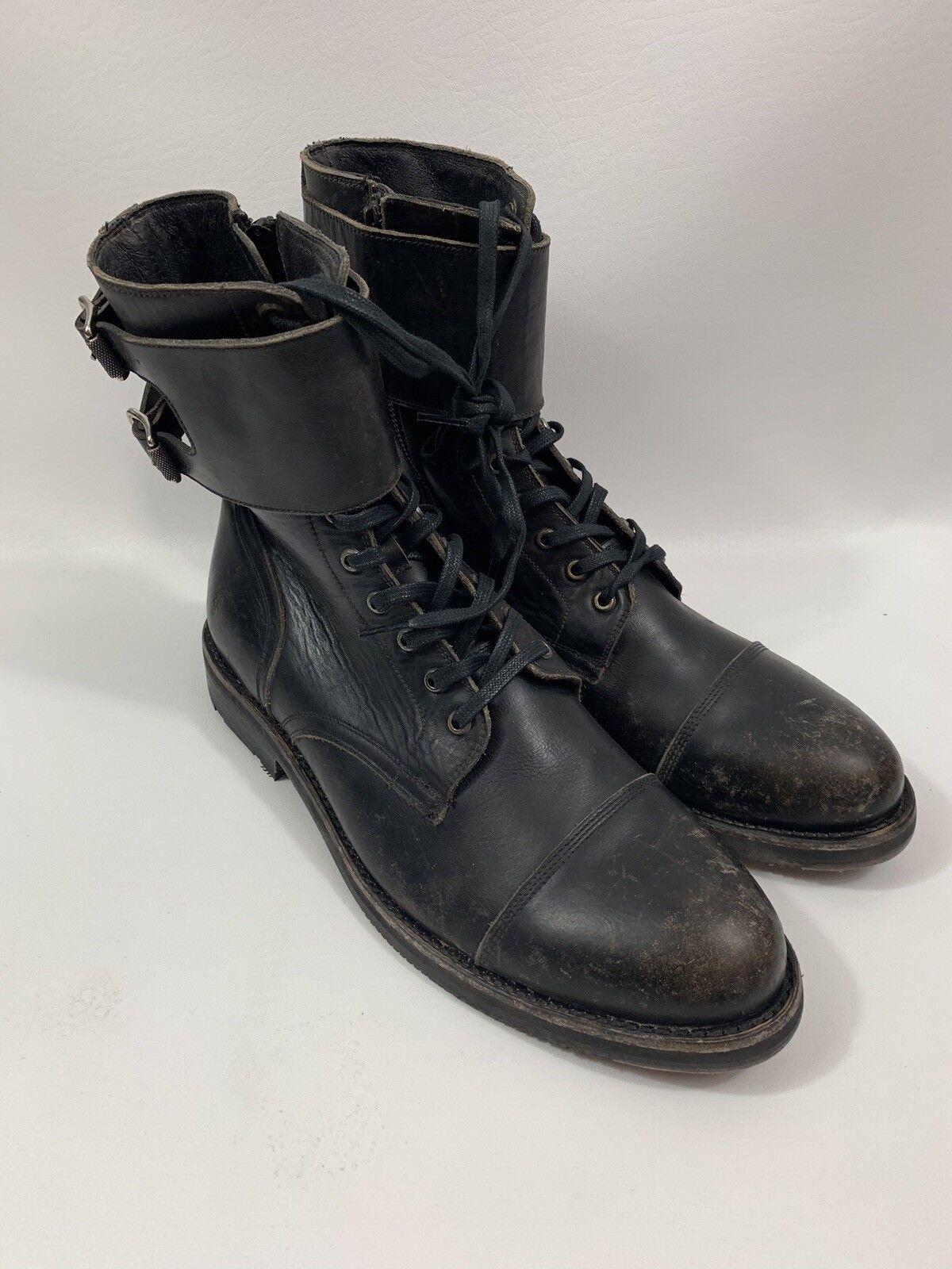FRYE Military Combat botas Talla 11.5 D