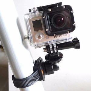 Strap-Mount-GoPro-Kabelbinder-Halter-Adapter-Halterung-Kabel-Hero-2-3-4-5-Frame