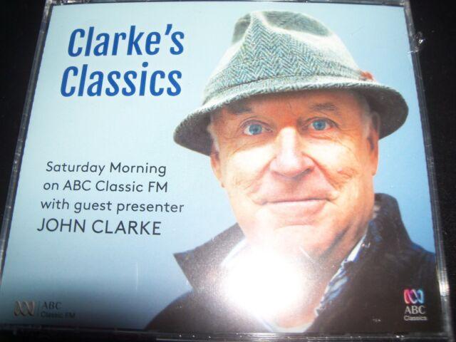 John Clarke – Clarke's Classics (Australia) ABC 3 CD – New