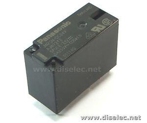 JW2SN-DC24V-Reles-universales-5A-24VDC-DPDT-Panasonic-1unidad